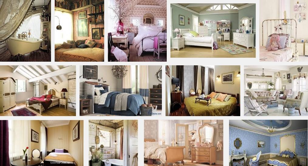 Кімнати у стилі вінтаж