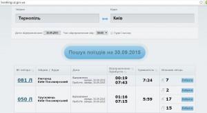 Як купити квитки на поїзд онлайн